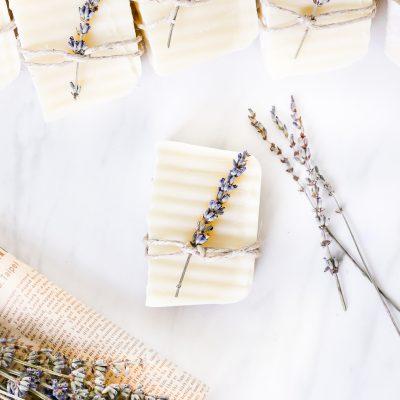 Lavender Soap Favors