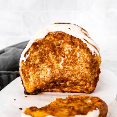Pull-Apart Pumpkin Spice Bread